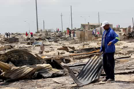 Khayelitsha new year shack fires