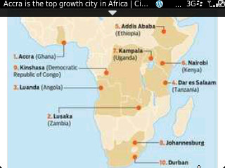 Mastercard Growth Index: Top 10 Cities in Africa with greatest potential for growth