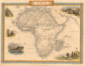 The evolution of Africa since 1851