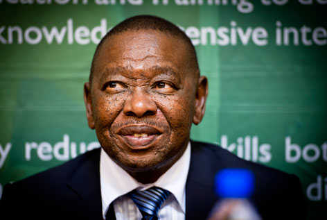Blade Nzimande (Minister of Higher Education)